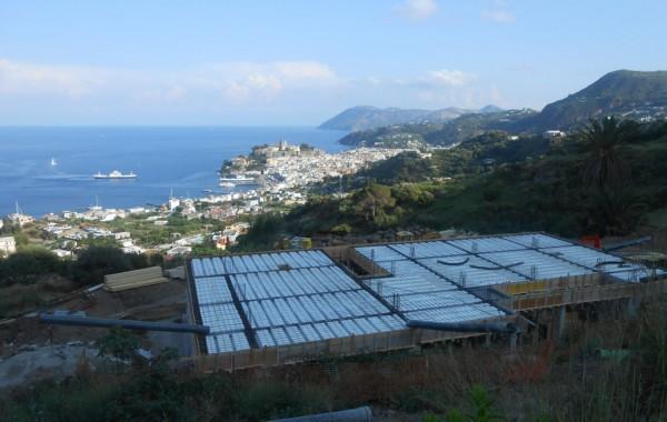 Progetto per la costruzione di un immobile a Lipari  – via Garibaldi