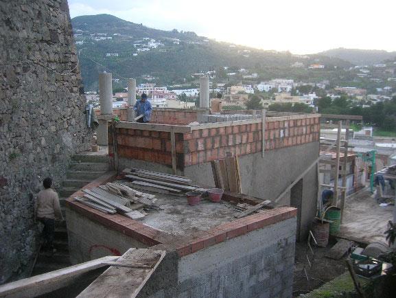 Progetto per la ristrutturazione di un immobile in centro storico di Lipari  – via Garibaldi
